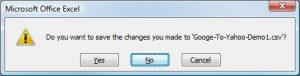 Excel-Dont-Save-Changes