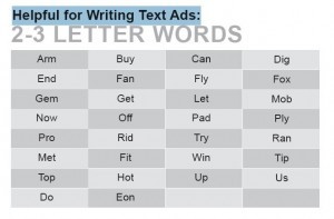 Cheat Sheet for Pay Per Click Text Ads
